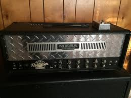 Mesa Boogie 2x12 Rectifier Cabinet Review Sold Mesa Boogie Dual Rectifier Solo Head And 2x12 Cab The