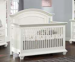 Convertible White Crib Oxford Baby Cottage Cove 4 In 1 Convertible Crib Vintage White