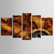 Wall Paintings For Living Room Online Get Cheap Canvas Art Clock Aliexpress Com Alibaba Group