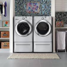 Frigidaire Laundry Pedestal Frigidaire Affinity Fafs4174na 3 9 Cu Ft Front Load Washer Sears