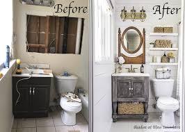 Bathroom Makeover Pictures Before And After - farmhouse bathroom makeover popsugar home