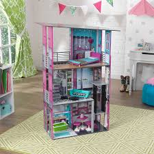idea wooden barbie doll house kidkraft dollhouse kidkraft