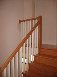 Stair Banister Installation American Staircrafters Of Maryland Stairs Staircase Stair Rail