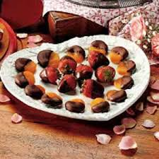 fruit dipped in chocolate chocolate dipped fruit recipe taste of home