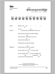 corvette chords sheet direct