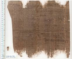 writing parchment paper ancient writing materials papyrus u m library the