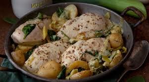 creme fraiche cuisine chicken leek potatoes with creme fraiche sauce supervalu