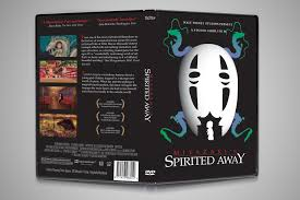 spirited away dvd cover redesign on behance