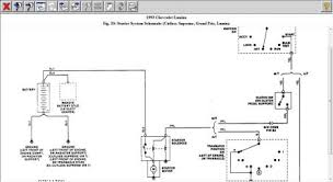 1993 chevy lumina wiring diagram for the starter