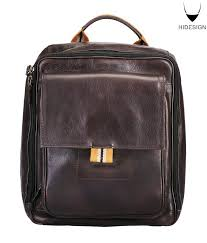 Rugged Leather Backpack Hidesign Brown Rugged Leather Backpack Buy Hidesign Brown Rugged