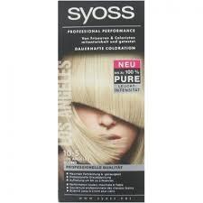 Sho Syoss syoss haarverf nr 10 5 los angeles blond 3 stuks haarverf