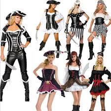 caribbean attire 2018 new women pirate costume high quality fancy dress