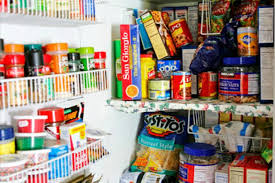 how to store food in a cupboard food pantry