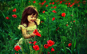 Cute Flower Wallpapers - girls with flowers wallpapers hd pictures u2013 one hd wallpaper