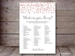 bridal what u0027s in your purse u2013 printabell u2022 create