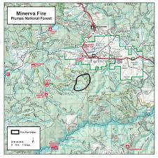 Unr Map California Firefighters Battle 700 Acre Wildfire In Plumas County