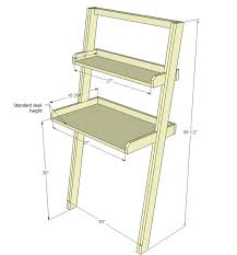 Leaning Shelves Woodworking Plans by Best 25 Leaning Desk Ideas On Pinterest Small White Dressing