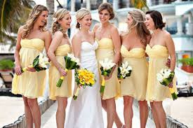 Canary Yellow Dresses For Weddings Bridesmadi Dresses Fashion Trends