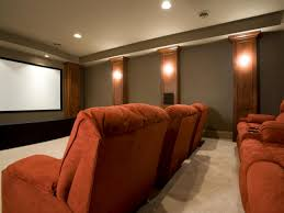 How To Decorate Home Theater Room Home Theater Design Basics Diy
