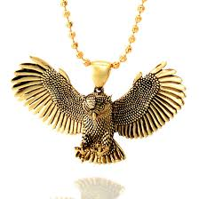 necklace owl images The 14k gold great horned owl necklace hip hop jewelry king jpeg