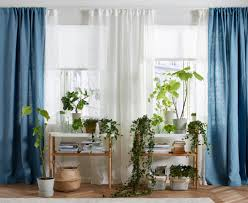 Ikea Curtains Blackout Decorating Homey Inspiration Green Curtains Ikea Decor Curtain
