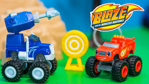 monster truck videos on youtube blaze and the monster machines nickelodeon blaze crusher u0027s cannon