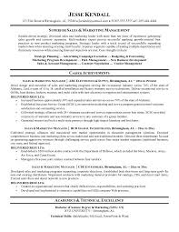 Marketing Executive Resume Samples Free by Marketing Resume Format Resume Sample 13 Sales Amp Marketing