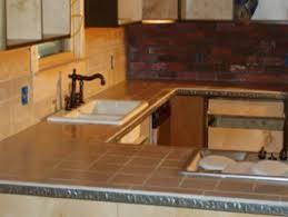 tile kitchen countertops ideas cool design rustic tile kitchen countertops redtinku kitchen and