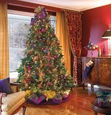 picture of brown christmas tree 29 inspirational christmas tree decorating ideas 2017 2018 with