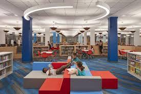 Gensler by Gensler Designed Children U0027s Library Opens At Chicago U0027s Harold