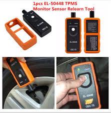 nissan altima 2015 tpms error el 50448 tpms tire pressure monitor sensor activation relearn tool