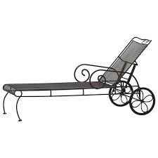 Wrought Iron Patio Chaise Lounge Outdoor Chaise Lounges 8 Great Designs Artisan Crafted Iron