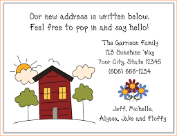 3 new address cards outline templates