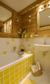 adorable yellow bathroom tiles tile grout mosaic wall old ideas