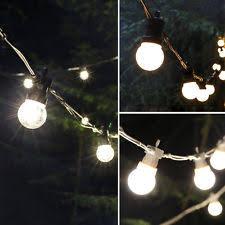 outdoor bulb string lights ebay