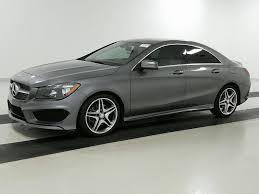 mercedes palm used 2015 mercedes class cla250 sedan for sale in