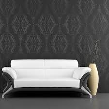 dotty damask all over wallpaper stencil reusable stencil