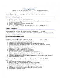 Resume Jobs Objective by Mesmerizing Cna Resume Cv Cover Letter Pilot Template Word Sample