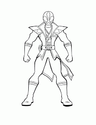 power ranger color colouring pages coloring page