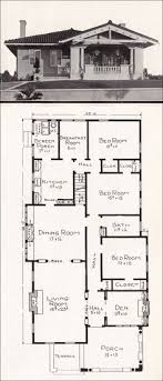 chicago bungalow floor plans c 1918 stillwell house plans california representative homes