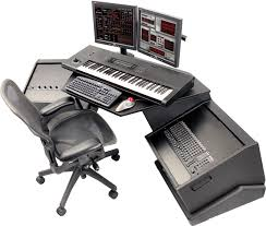 recording studio workstation desk argosy raven h10 sweetwater com studio ideas pinterest