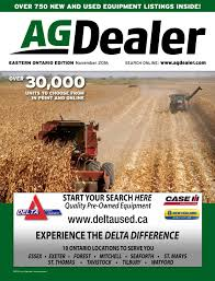 agdealer eastern ontario edition november 2016 by farm business