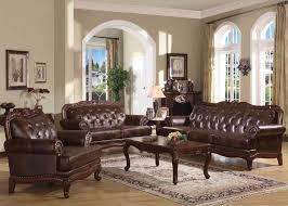 leather livingroom sets furniture birmingham formal leather living room set