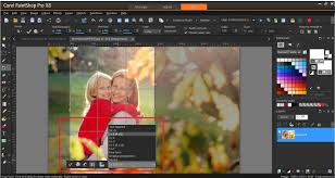 how to use collage templates corel discovery center