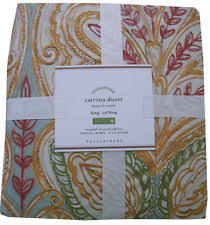 pottery barn king duvet covers u0026 bedding sets ebay