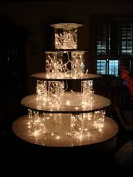 diy wedding cake stand krispy kreme wedding cake pass out doughnuts and not a true