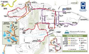 Trolley San Francisco Map by Mammoth Lakes Area Transportation And Bus Schedule Mammoth Mountain