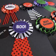 halloween paper craft halloween paper award ribbons printable paper craft fantastic toys