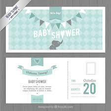 invitation templates for baby showers free lovely baby shower invitation template vector free download