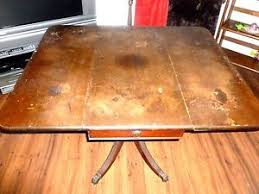 brandt furniture of character drop leaf table antique brandt character drop leaf table with brass claw feet ebay